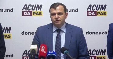 """Председатель политической платформы """"Достоинство и правда"""" Андрей Нэстасе."""