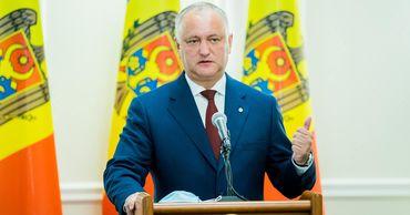 Додон заявил, что Молдова возобновит переговоры с Россией о кредите в 200 миллионов евро.