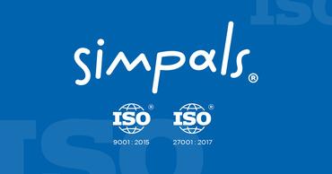 Компания Simpals подтвердила соответствие стандартам ISO.