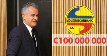 Усатый: Плахотнюк попытается вывести 100 млн евро из Moldindconbank. Коллаж: Point.md
