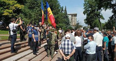 Полиция о задержании манифестантов: Вели себя агрессивно.