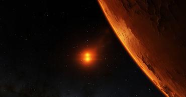 Ученые назвали возможную причину исчезновения воды с Марса.