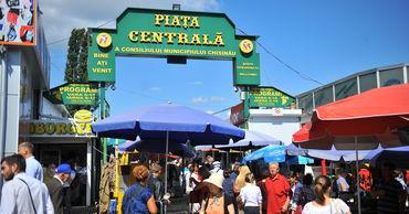 Центральный рынок в Кишиневе возвращается к обычному режиму работы.