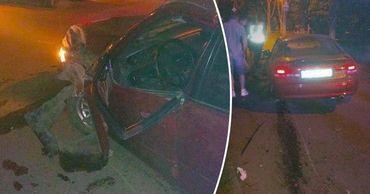 В столице 49-летний водитель врезался в дерево и попал в больницу. Коллаж: Point.md