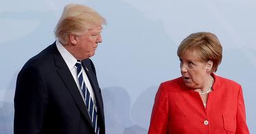 СМИ узнали о «горячем споре» Трампа и Меркель о «Северном потоке - 2».