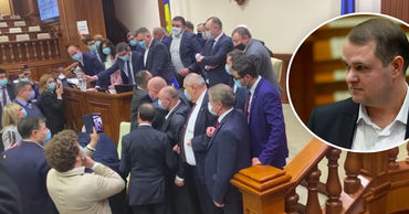 """Депутат ПСРМ о потасовке в парламенте: """"Посмотрите на этих обезьян""""."""