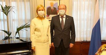 Башкан Гагаузии провела встречу с Послом России