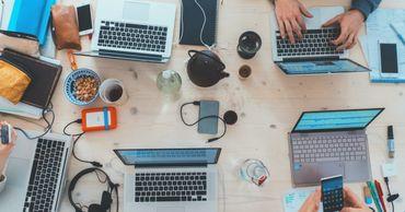 Исследование: Компании не хотят возвращаться в офисы после пандемии. Фото: ukrinform.ru.