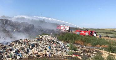 Пожар на свалке в Цынцэрень ликвидировали.