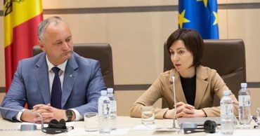 Майя Санду предлагает Игорю Додону уйти отставку.