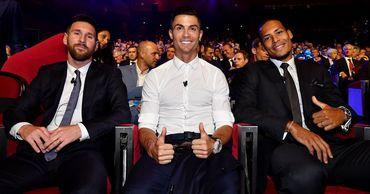 Роналду стал третьим в голосовании за «Золотой мяч».