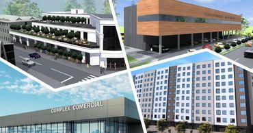 В Бельцах строится шесть крупных объектов.