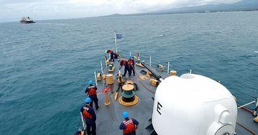 Американский патруль в Гвинейском заливе.