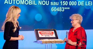 Национальная Лотерея: Четвертый победитель месяца подарков выбрал 150 тысяч леев.
