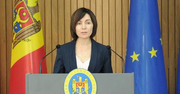 """Санду: """"Другое правительство не получит помощь от Румынии""""."""