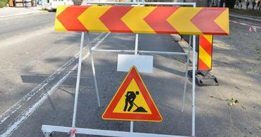 До 31 марта будет частично приостановлено дорожное движение на улице Колумна.