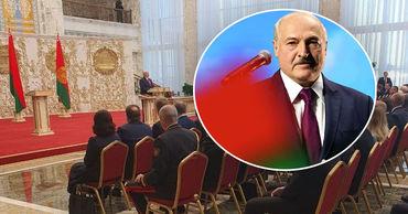 Лукашенко вступил в должность президента Белоруссии.