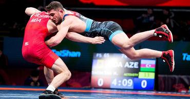 Молдавский борец сразится за бронзовую медаль на чемпионате Европы