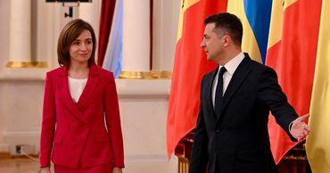 Санду: Я попросила помощи Зеленского в вопросе собственности РМ на Украине.
