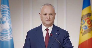 Додон заявил об особом статусе русского языка в Молдове.