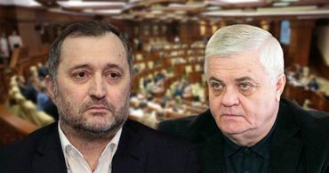 Политолог Анатол Цэрану и лидер ЛДПМ Влад Филат. Коллаж: Point.md.