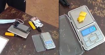 Карабинеры задержали в столице мужчину с 2 пакетиками наркотиков