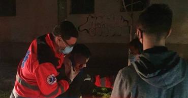 В столице произошло ДТП: пьяного молодого человека сбил автомобиль.
