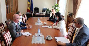 Вице-премьер по реинтеграции встретилась с главой Миссии ОБСЕ в Молдове. Фото: Moldpres