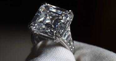 На аукционе продали кольцо с самым крупным бриллиантом Австралии.