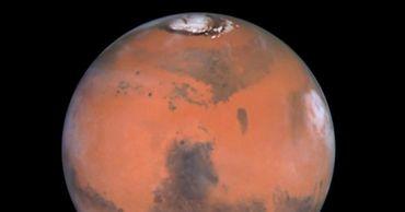 Под полярными шапками Марса есть солёные озёра. Фото: pravda.ru.