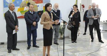 В столице открылась выставка работ художника Андрея Мудри.