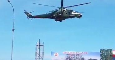 В Индонезии Ми-35 снес трибуны на военном параде