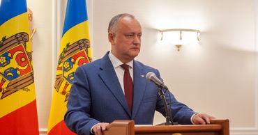 Додон: Совет Европы остается надежным партнером Молдовы.