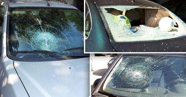 Пьяный хулиган из Молдовы разбил стекла семи автомобилей в Болгарии. Фото: Point.md.