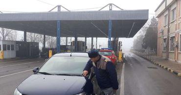 Было выявлено, что автомобилю марки Volkswagen был присвоен гаражный регистрационный номер.