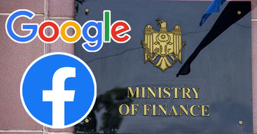В Минфине хотят обязать Facebook и Google платить налоги в Молдове.Фото: Point.md