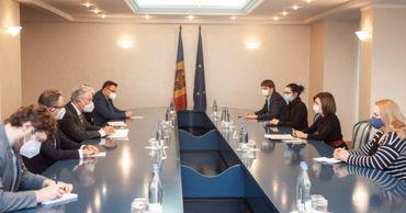 Санду встретилась со спецпредставителем действующего председателя ОБСЕ.