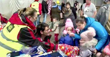 Дети из Сорок получили подарки от благотворительного фонда из Германии.