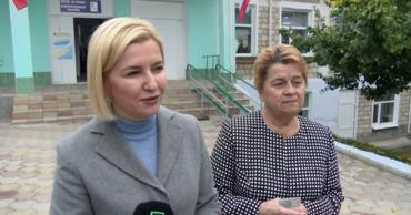 Башкан Гагаузии Ирина Влах проголосовала за сплоченную команду.