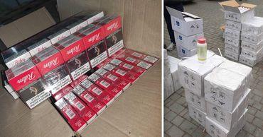 Таможенники предотвратили контрабанду спирта, сигарет и токсичных веществ. Фото: Point.md.