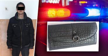 В Кишиневе задержали мужчину по подозрению в краже кошелька.