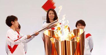 Эстафета олимпийского огня стартовала в японской Фукусиме.