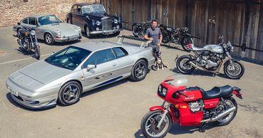 Бывший ведущий Top Gear распродаёт коллекцию автомобилей и мотоциклов.