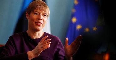 Президент Эстонии призналась, что ее внуки ходят в русский детсад.