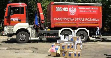 Польша предоставила Молдове гуманитарную помощь для борьбы с пандемией.