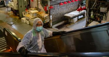В Китае обнаружили коронавирус на упаковке морепродуктов из России.