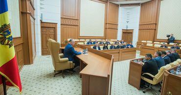 Президент провел встречу с депутатами Народного собрания Гагаузии.