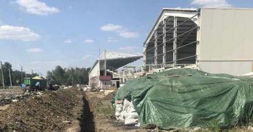 Комратский стадион подключают к коммуникациям. Фото: gagauzinfo.md.