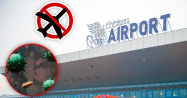 Все рейсы в Кишинев из Италии и стран, затронутых вирусом, были отменены
