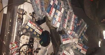 Молдаванин пытался ввезти в Румынию контрабандные сигареты.